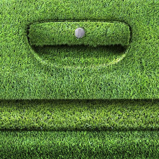 Arval maniglia erba