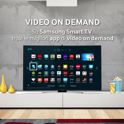 Samsung Smart TV - Video on demand