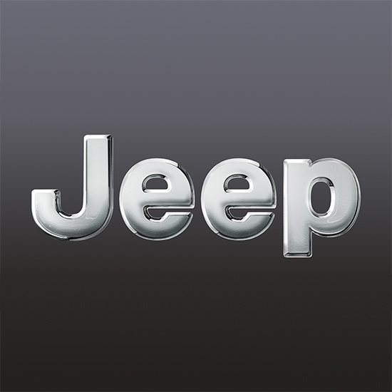 Still frame 3D logo Jeep