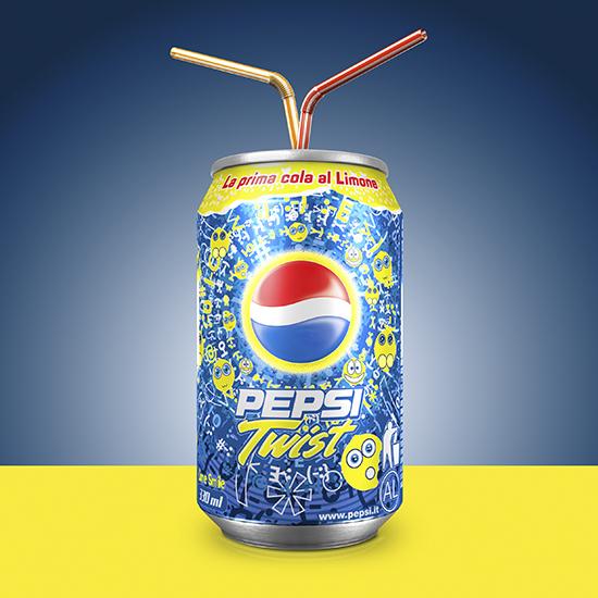 still frame 3D, Pepsi
