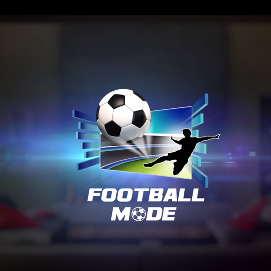 Samsung Smart TV - Football Mode