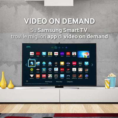 Samsung Smart TV - Video on demand