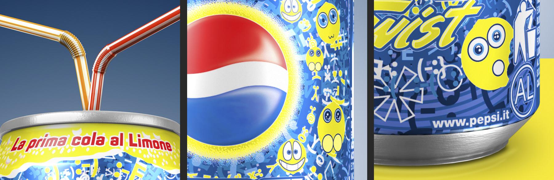 Prisma Associati</br>Pepsi Twist can